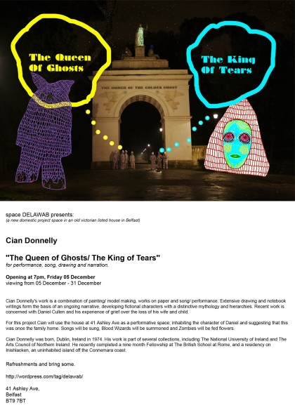 'The Queen of Ghosts/The King of Tears'